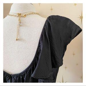 H&M - Long Ruffle Dress